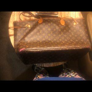 Louis Vuitton Bags - AUTHENTIC LOUIS VUITTON NEVERFULL GM HANDBAG